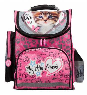 Tornister szkolny 14' CAT PINK