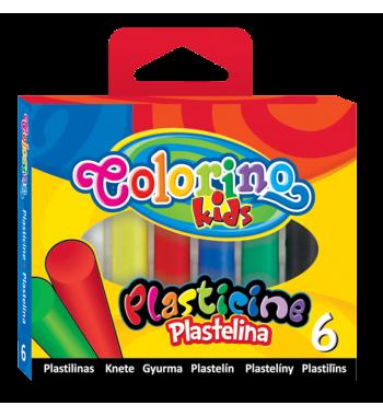 PLASTELINA 6 KOLOR COLORINO
