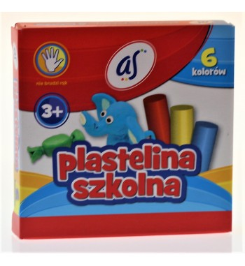 PLASTELINA 6 KOLOR AS