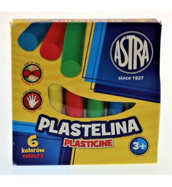PLASTELINA 6 KOLOR ASTRA