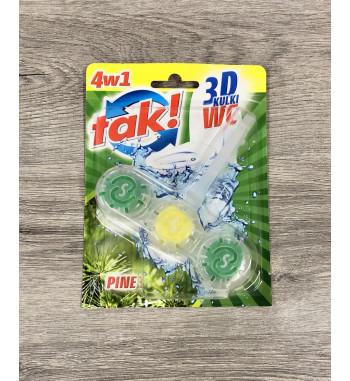 TAK WC KULKI 40 G PINE 3D
