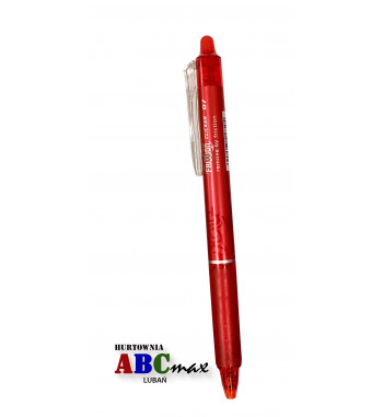 czerwony długopis